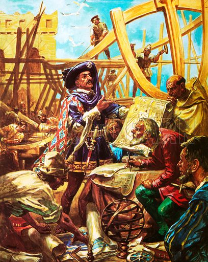 Henry the Navigator, picture, image, illustration