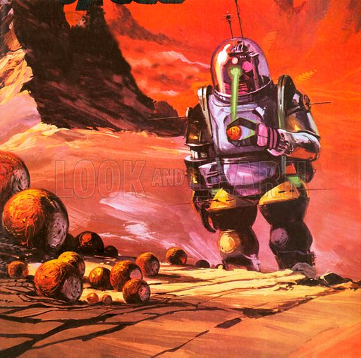 Robots envisaged on the red planet