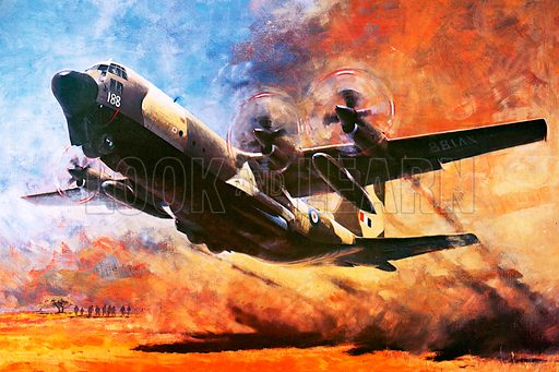 Hercules C-130, picture, image, illustration