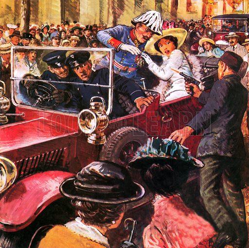Sarajevo 1914, picture, image, illustration