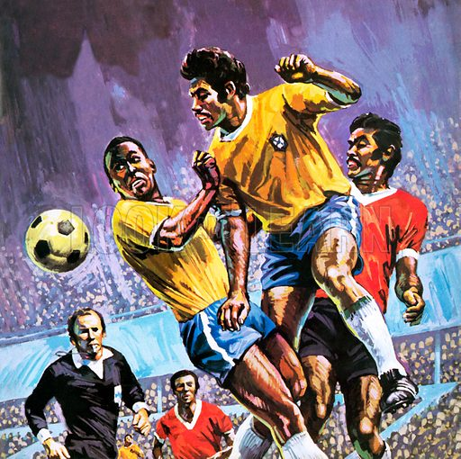Pele, picture, image, illustration