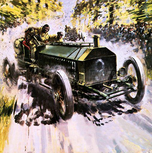 Napier 1904 victory, picture, image, illustration