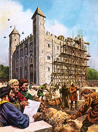 The White Tower, picture, image, illustration
