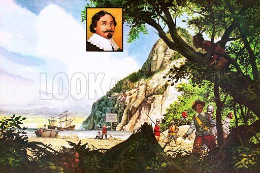 Tasman, picture, image, illustration