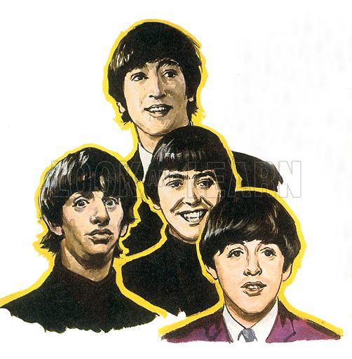 """The Beatles. This British pop group known as the """"Fab Four"""" burst on the world music scene in the 1960s. The Beatles (George Harrison, John Lennon, Paul McCartney and Ringo Starr) were the best-selling music act of the twentieth century, even though they only played together for ten years, between 1960 and 1970."""
