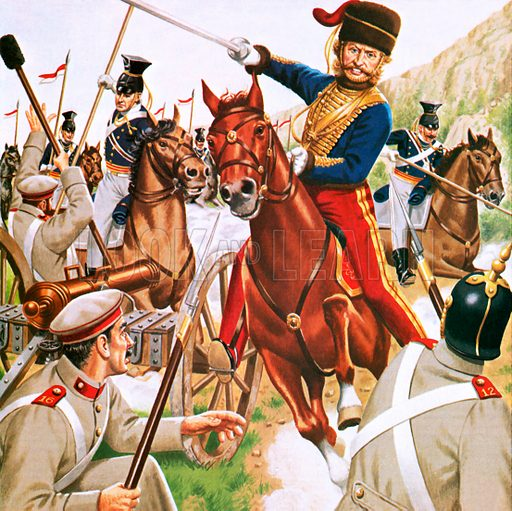 The Valley of Death – The Charge of the Light Brigade. At the Battle of Balaclava many British soldiers were cut down during their heroic charge. An episode immortalised by Alfred Lord Tennyson.
