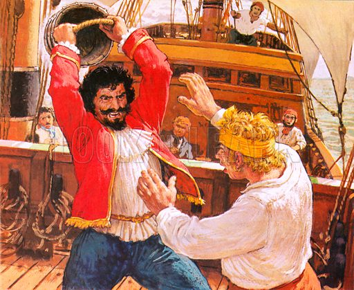 Captain Kidd strikes More, picture, image, illustration