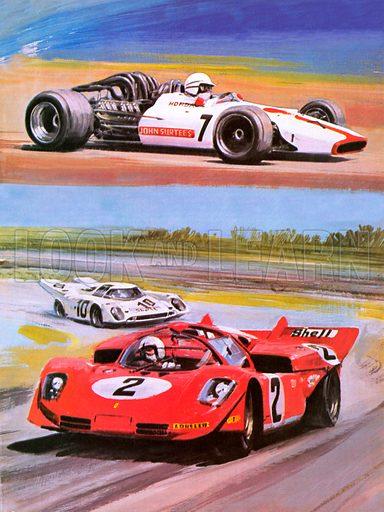 John Surtees, picture, image, illustration