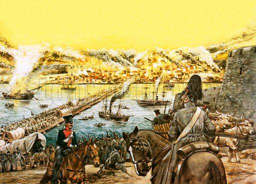 picture, Siege of Sebastopol, Sevastopol
