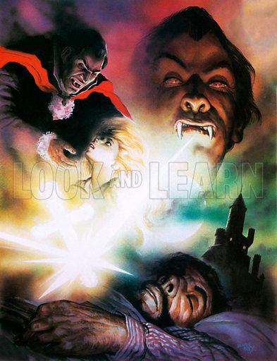 Beam Stoker's Dracula, picture, image, illustration