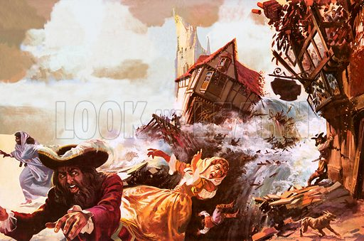 The disappearance of Port Royal in 1692