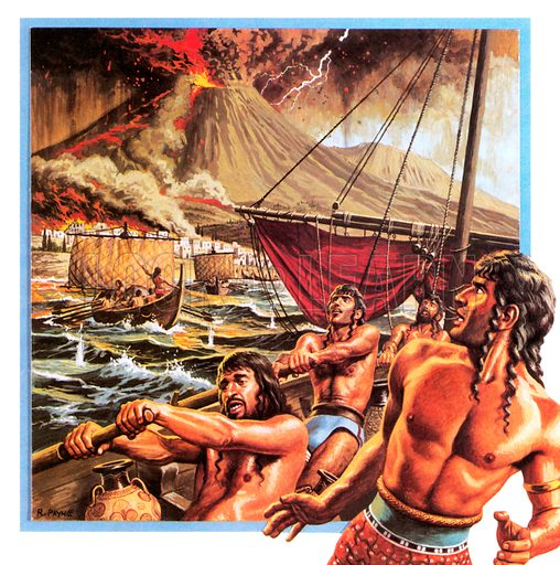 Mystery of the lost continent of Atlantis.