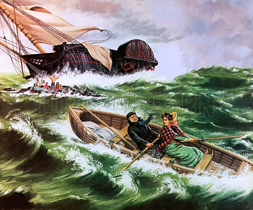Grace Darling, picture, image, illustration