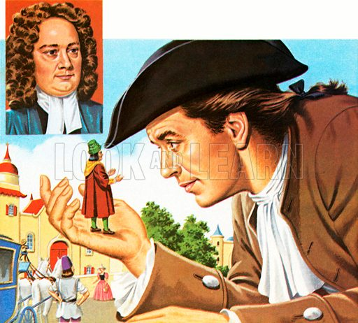 Gulliver's Travels, picture, image, illustration