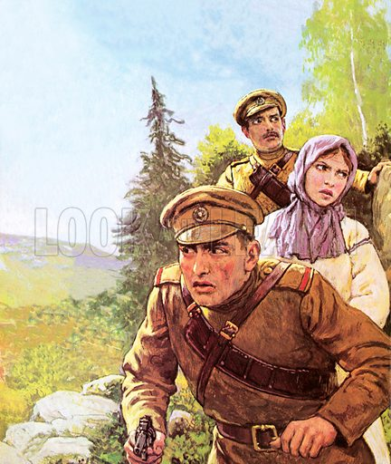 Nicholas and Alexandra, picture, image, illustration