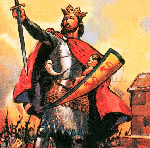 picture, King Edward I, the first, Hammer of the Scots