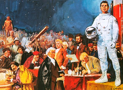Man's fascination with space