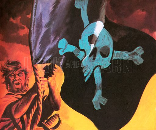 Jolly Roger, picture, image, illustration