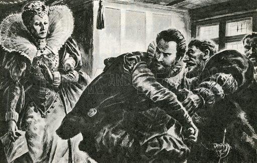 Elizabeth and Essex, picture, image, illustration