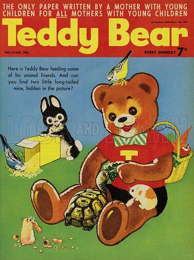Teddy Bear, magazine cover, 1965.