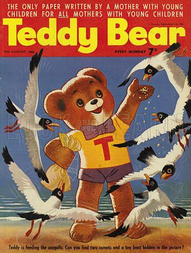 Teddy Bear, magazine cover, 1966.