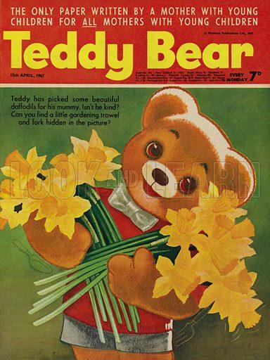 Teddy Bear, magazine cover, 1967.