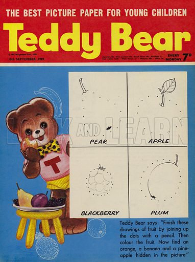 Teddy Bear, magazine cover, 1969.