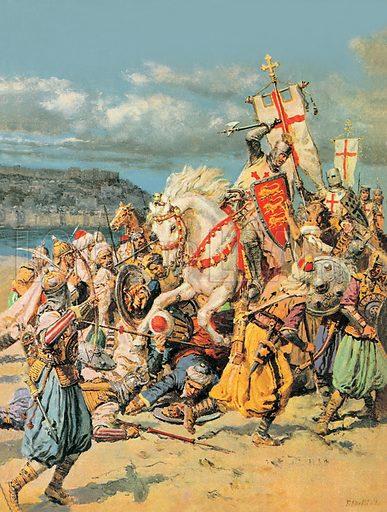 Richard the Lionheart on the Third Crusade, 1191–1192