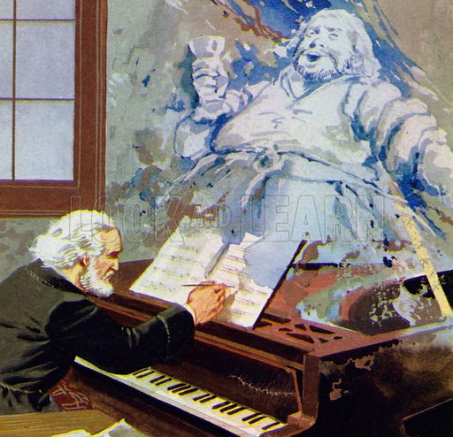 Verdi's pessimism could even be seen in the comic opera Falstaff