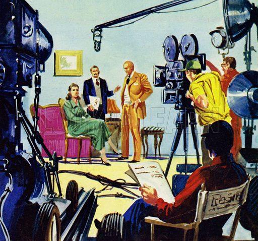 film director, picture, image, illustration