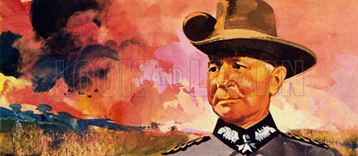 Colonel Paul Von Lettow-Vorbeck commanded soldiers in German … stock image  | Look and Learn