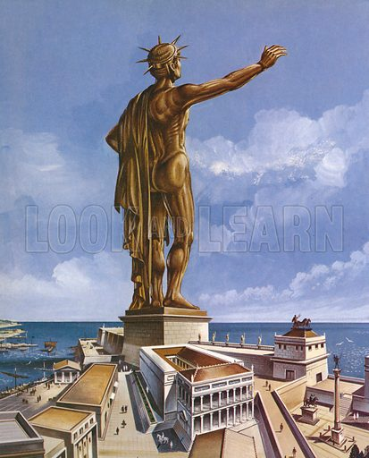 colossus of rhodes history