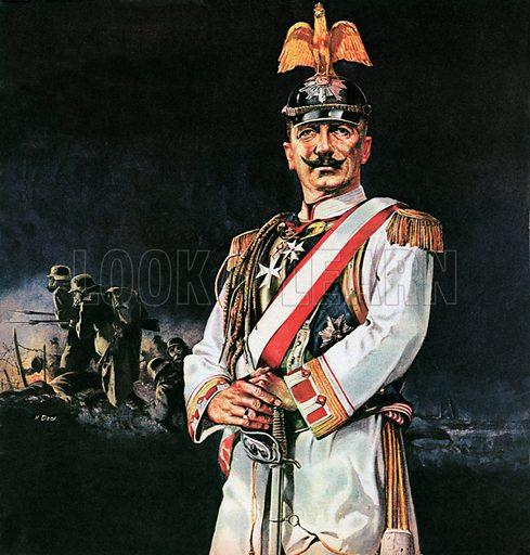 Kaiser Wilhelm II, Emperor of Germany.