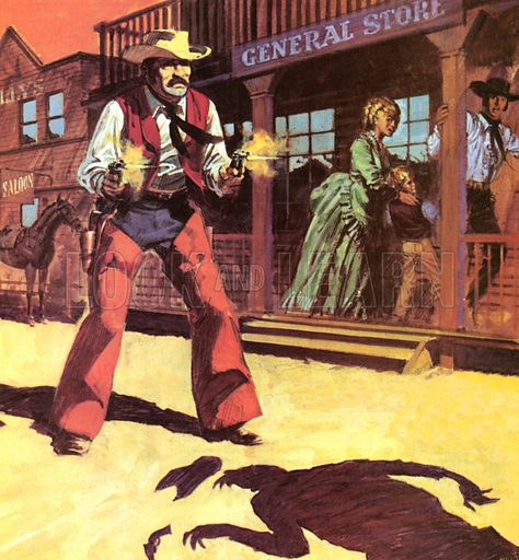 The Law of The Gun, The Wild West.