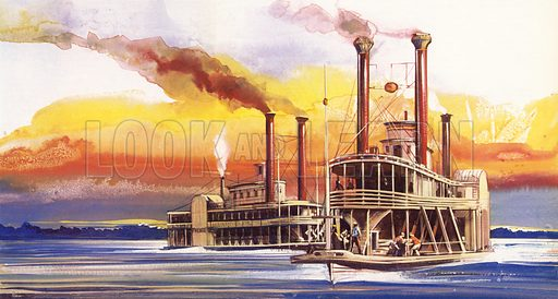 The Oregon, and George Law, King Of The Steamboats.