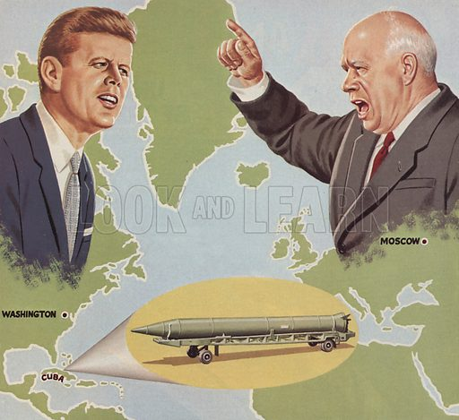 John F Kennedy Cuban Missile Crisis Quotes: Look And Learn History Picture