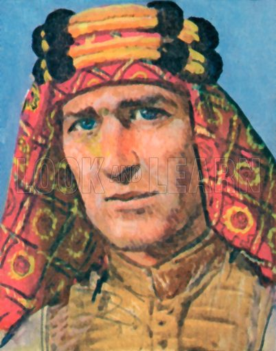 Lawrence of Arabia, picture, image, illustration