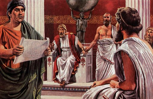 Pericles, the Athenian statesman responsible for the construction of the Parthenon