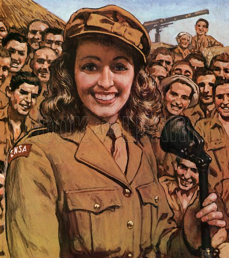 Vera Lynn, picture, image, illustration