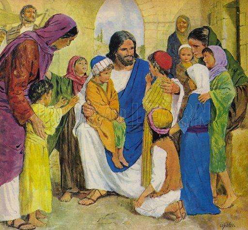 Jesus Christ, He Loved Children.