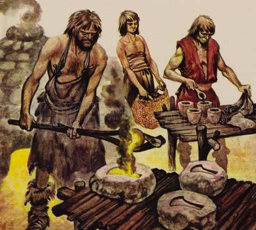 Iron age, picture, image, illustration