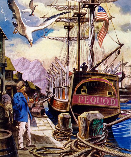 The Pequod, picture, image, illustration