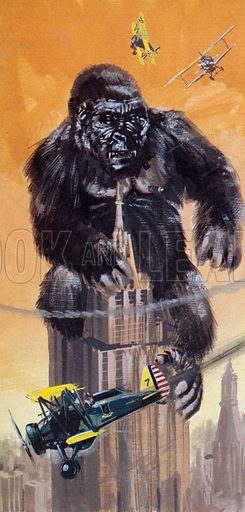 King Kong, in which the part of the gigantic ape that terrorised New York was played by a small doll