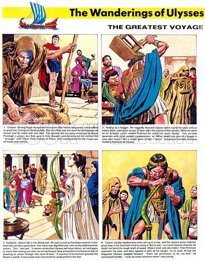 Illustration for The Wanderings of Ulysses, Homer's Heroic Story.