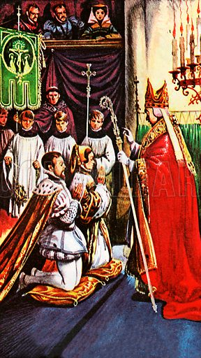 Queen Mary marries Prince Philip of Spain at Winchester.