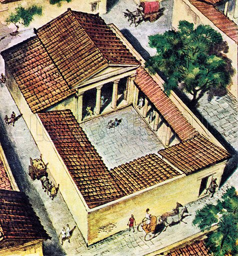 The Houses of Ancient Greece.