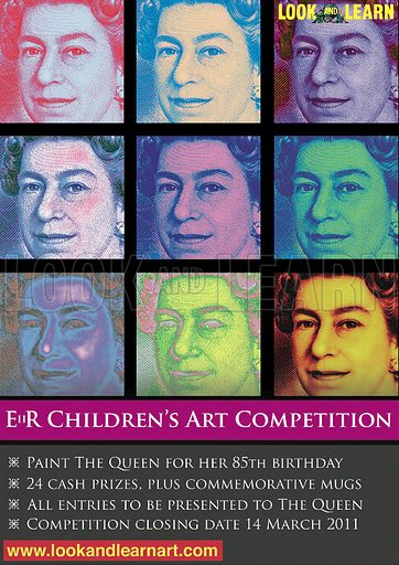 Advertisement for Look and Learn EiiR portrait competition.