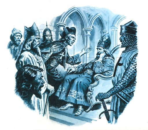 News of Presbyter John, or John the Priest. To the Papal Court in Italy came news of the illustrious Christian ruler of a fabulous kingdom in the East; and a legend was born.