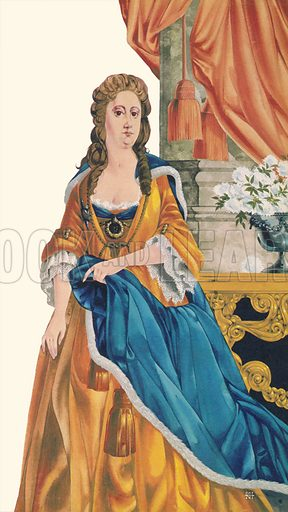 Queen Anne. Illustration from Once Upon a Time.