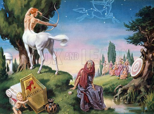 Sagittarius. Illustration from Once Upon a Time.
